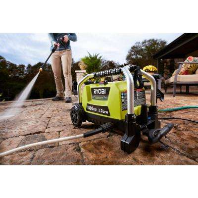 1,800 psi 1.2 GPM Wheeled Electric Pressure Washer
