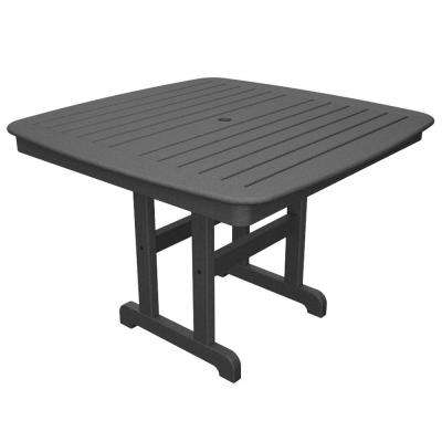 Yacht Club 44 in. Stepping Stone Patio Dining Table