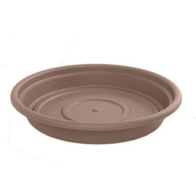 14 in. Curated Dura Cotta Plastic Saucer 12-Pack)