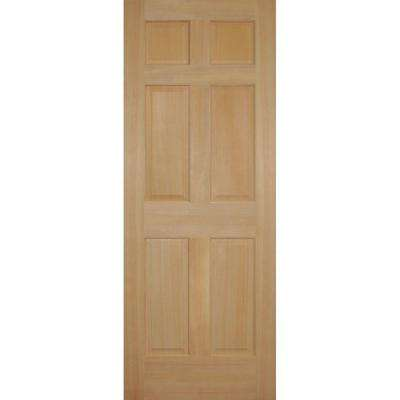 Fir 6-Panel Single Prehung Interior Door