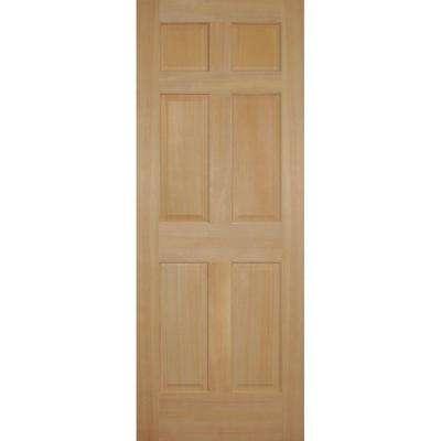 6 panel prehung doors interior closet doors the home depot fir 6 panel single prehung interior door planetlyrics Choice Image
