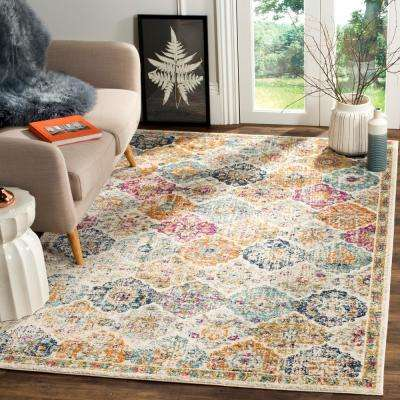 Madison Cream/Multi 8 ft. x 10 ft. Area Rug
