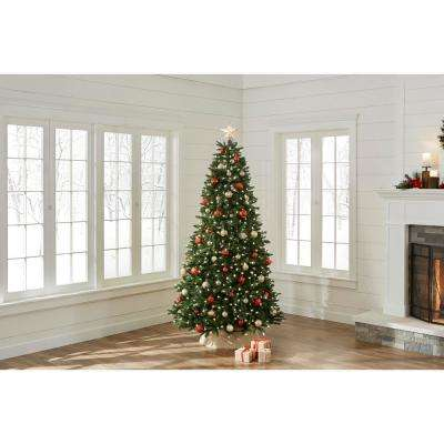 7.5 ft. Pre-Lit LED European Fir Tree