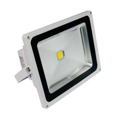 1-Head White LED Day Light Outdoor Wall-Mount Flood Light
