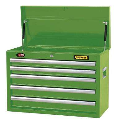 26 in. 5-Drawer Tool Chest in Wide Lime Green