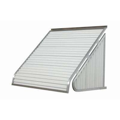 4 ft. 3500 Series Aluminum Window Awning (24 in. H x 20 in. D) in White