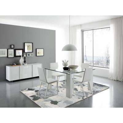 Shinoda Gray 5 ft. x 7 ft. 6 in. Rectangle Area Rug