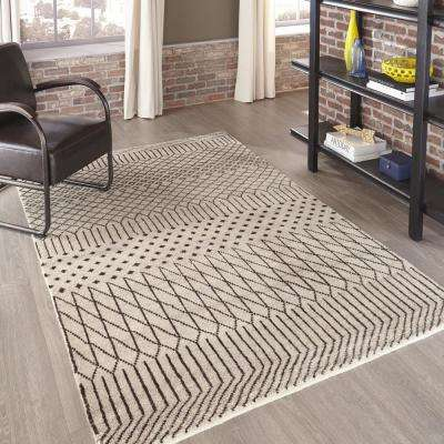 Atlas ATL-1 Natural 8 ft. x 11 ft. Hand Knotted Wool Area Rug