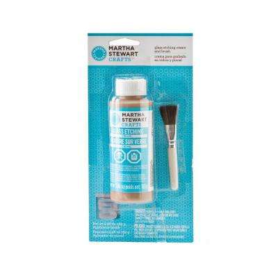 5.96-oz. Glass Etch Cream and Brush