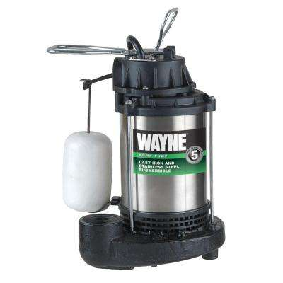 3/4 HP Submersible Sump Pump