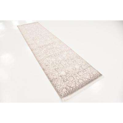 New Classical Olympia Gray 2' 7 x 10' 0 Runner Rug