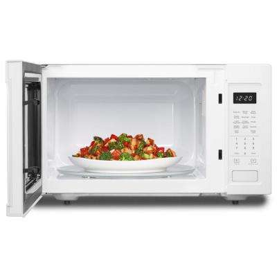 1.6 cu. ft. Countertop Microwave in Black, Built-In Capable with Sensor Cooking