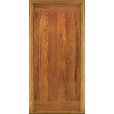 AvantGuard Flagstaff Finished Smooth Fiberglass Prehung Front Door with No Brickmold