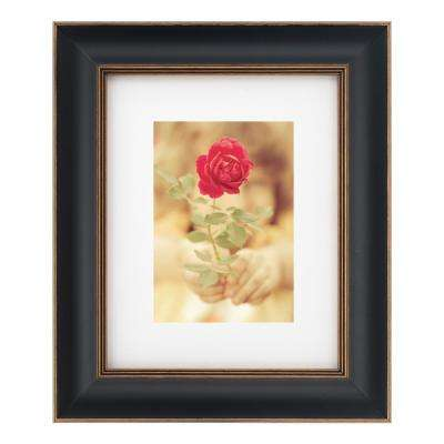 1-Opening 8 in. x 10 in Matted to 5 in. x 7 in. Picture Frame