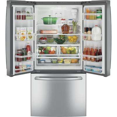24.7 cu. ft. French Door Refrigerator in Stainless Steel