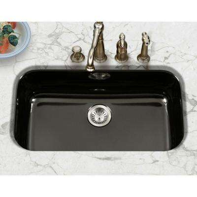 Porcelain Enameled Steel - Black - Kitchen Sinks - Kitchen ...
