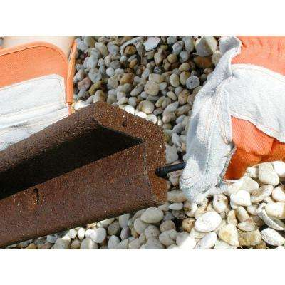 EcoBorder 4 ft. Brown Rubber Landscape Edging (48-Count/Pallet)