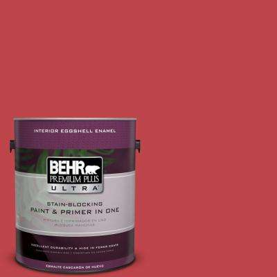 Home Decorators Collection 1-gal. #HDC-FL13-1 Glowing Scarlet Eggshell Enamel Interior Paint