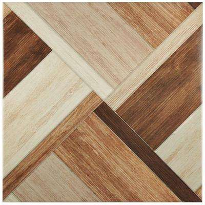 Austin Natural 17-3/4 in. x 17-3/4 in. Ceramic Wall and Floor Tile (17.4 sq. ft. / case)