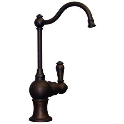 Forever Hot Single-Handle Point of Use Drinking Fountain Faucet in Mahogany Bronze