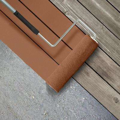 5 gal. #SC-122 Redwood Naturaltone Smooth Solid Color Exterior Wood and Concrete Coating