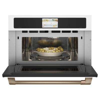 1.7 cu. Ft. Built-In Convection Microwave in Matte White