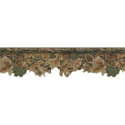 Lake Forest Lodge Realtree Camouflage Wallpaper Border