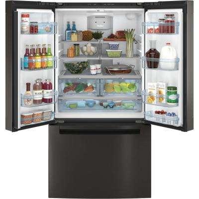 27.0 cu. ft. French-Door Refrigerator in Black Stainless Steel, Fingerprint Resistant and ENERGY STAR