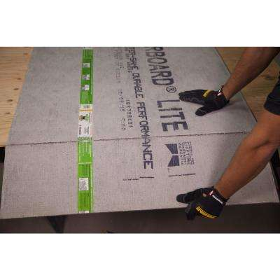 WonderBoard Lite 5 ft. x 3 ft. x 7/16 in. Backer Board