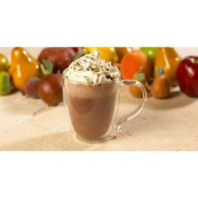 Cyprus 16 oz. Double-Walled Glass Coffee Mug