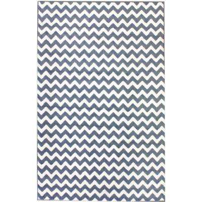Charles Light Blue 7 ft. 10 in. x 10 ft. 10 in. Area Rug