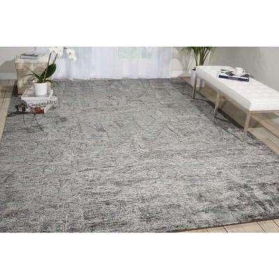Gemstone Hematite 8 ft. x 10 ft. Area Rug