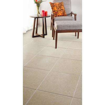 Sonoma Beige 16 in. x 16 in. Ceramic Floor and Wall Tile (10.76 sq. ft. / case)