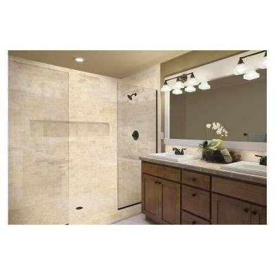 Developed by Nature Rapolano 3 in. x 12 in. Glazed Porcelain Floor Bullnose Tile (0.26 sq. ft. / piece)