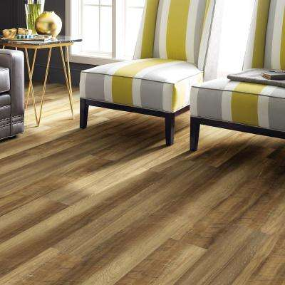 Jefferson 7 in. x 48 in. Golden Resilient Vinyl Plank Flooring (18.68 sq. ft. / case)