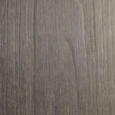Naturale Cortes Series 1 in. x 6 in. x 1 ft. Egyptian Stone Gray Solid Composite Decking Board Sample