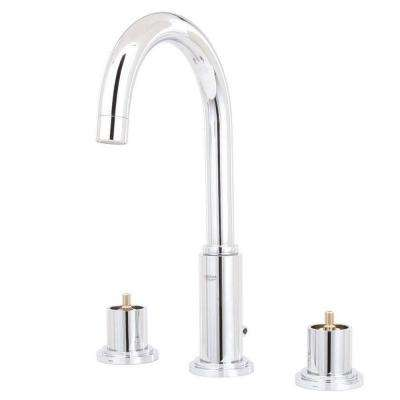 Atrio 8 in. Widespread 2-Handle High-Arc Bathroom Faucet in StarLight Chrome (Handles Sold Separately)