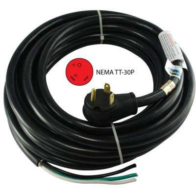 45 ft.10/3 RV 30Amp TT-30P Power Cord To Hard Wire