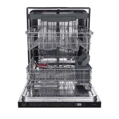 24 in. Top Control Tall Tub Dishwasher in Stainless Steel with Stainless Steel Tub and Multiple Filter System