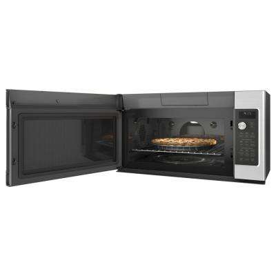 1.7 cu. ft. Over the Range Convection Microwave in Stainless Steel with Steam Cook