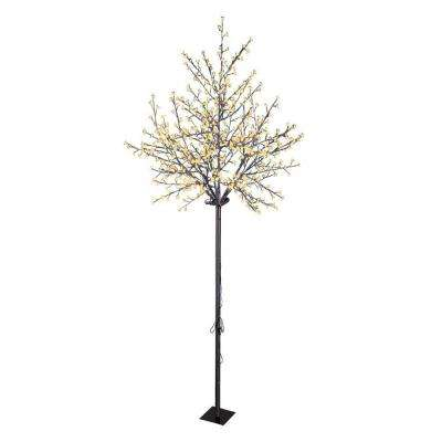 8.5 ft. Cherry Blossom Tree with 600 Warm White LED Lights