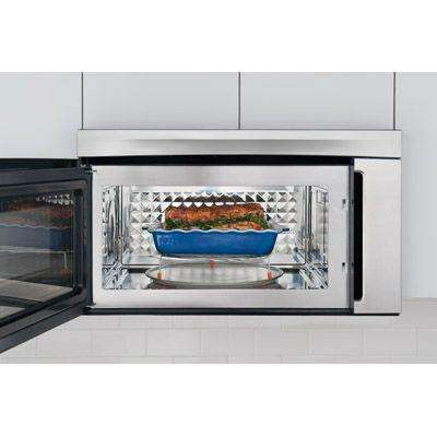 30 in. W 1.8 cu. ft. Over the Range Convection Microwave in Stainless Steel with Sensor Cooking