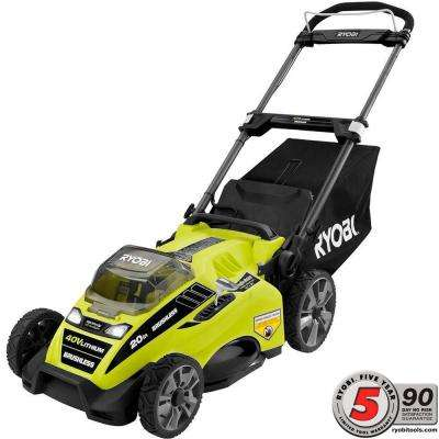 20 in. 40-Volt Brushless Lithium-Ion Cordless Battery Push Mower with 5.0 Ah Battery