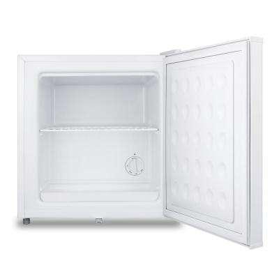 MOMCUBE 1.4 cu. ft. Breast Milk Upright Freezer in White