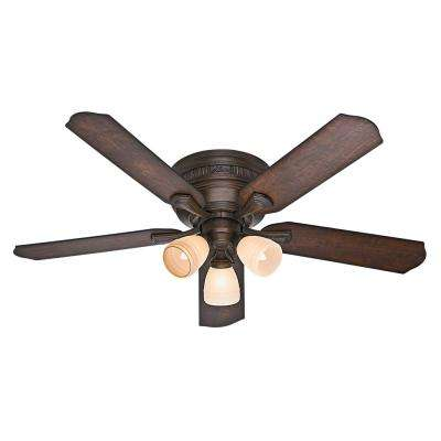 Fleming 52 in. Indoor Northern Sienna Ceiling Fan