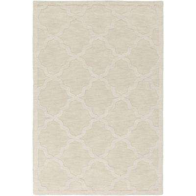 Central Park Abbey Ivory 4 ft. x 6 ft. Indoor Area Rug