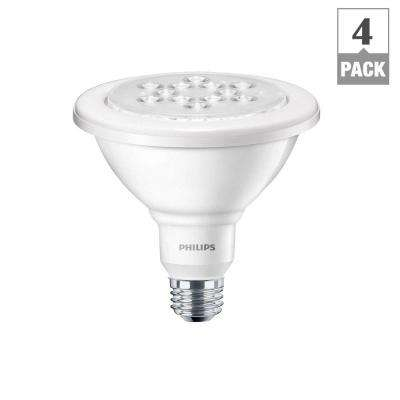 100W Equivalent Daylight (5000K) PAR38 Wet-Rated Outdoor and Security LED Flood Light Bulb (4-Pack)