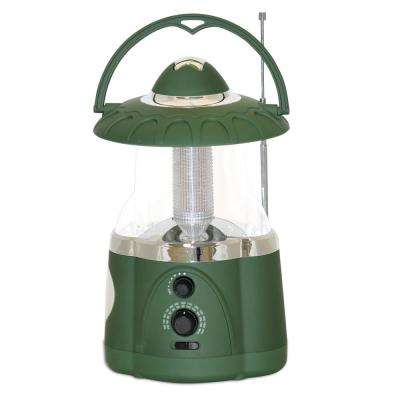 Green Battery Operated Multifunction Hanging Lantern
