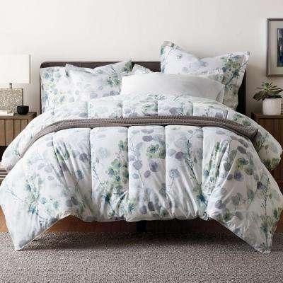 Plum Blossom Wrinkle-Free Sateen Comforter