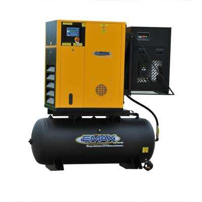 Premium Series 15 HP 3-Phase Variable Speed Rotary Screw Compressor with Swingarm Package